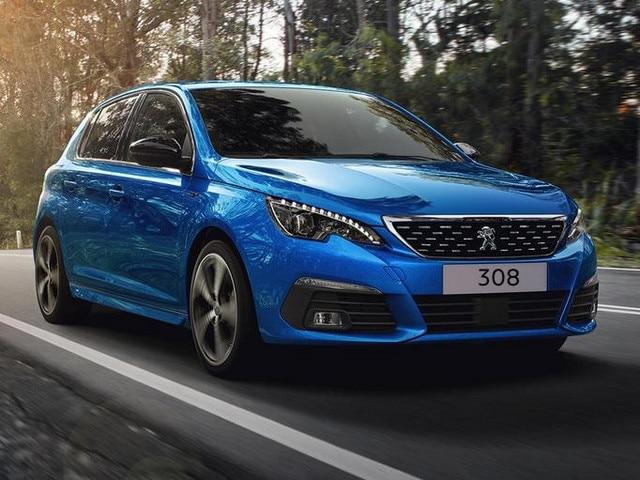 Kompaktwagen PEUGEOT 308 – Frontansicht