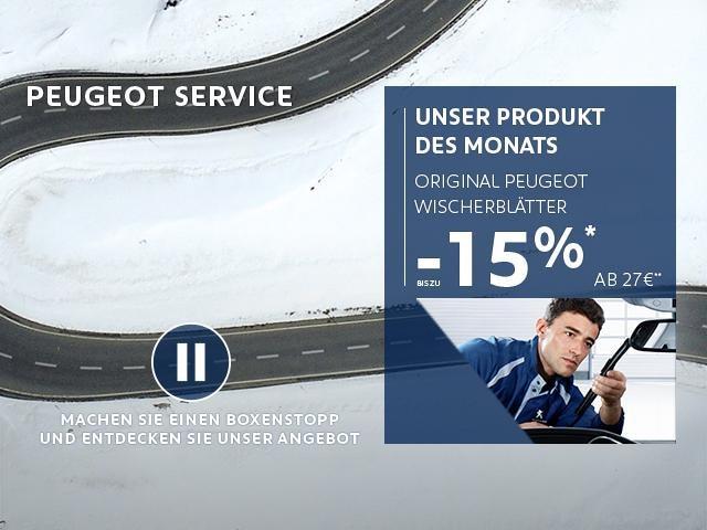 Produkt des Monats von PEUGEOT - Wischerblätter