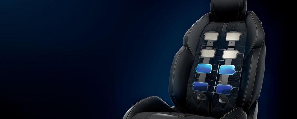 Neue PEUGEOT 508 Limousine, elektrisch verstellbare AGR-Sitze mit Memory-Funktion