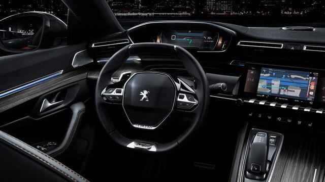Neuer Peugeot 508 Innenraumansicht