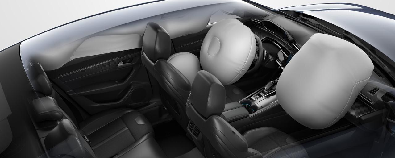 Neue PEUGEOT 508 Limousine, Airbags