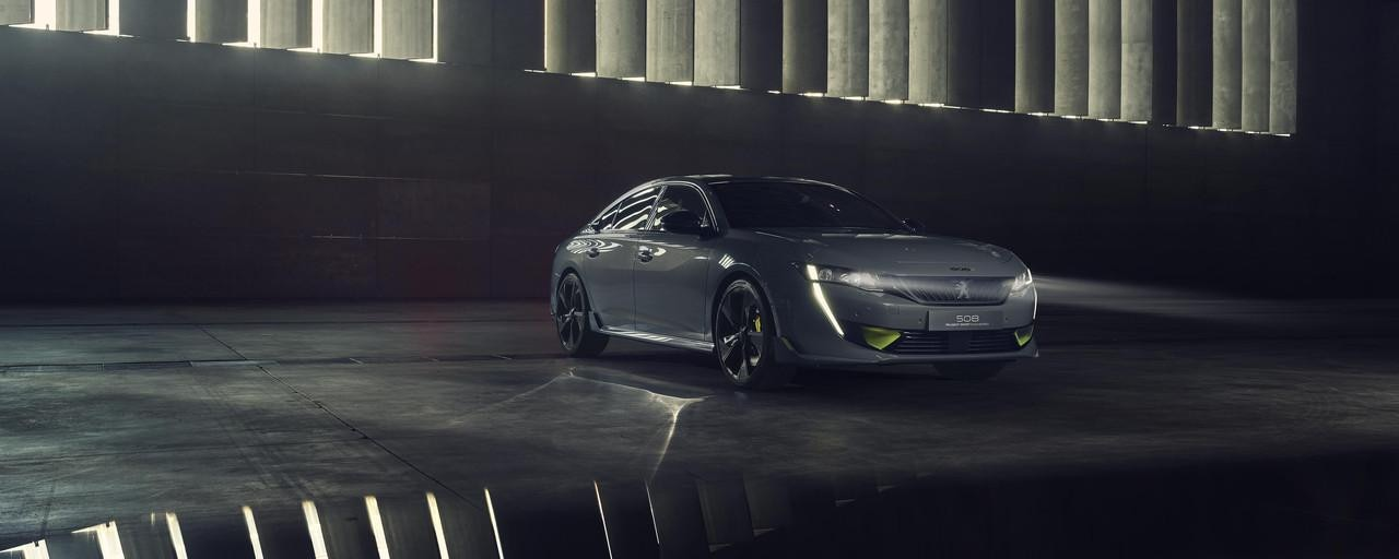 PEUGEOT-508 SPORT ENGINEERED Concept Aussendesign