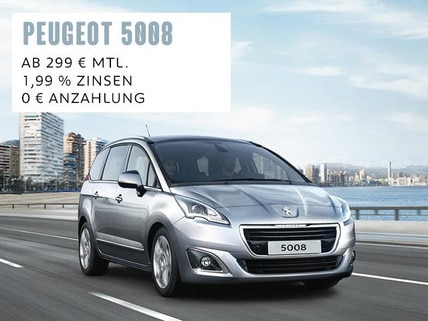 PEUGEOT 5008 Minivan Angebot