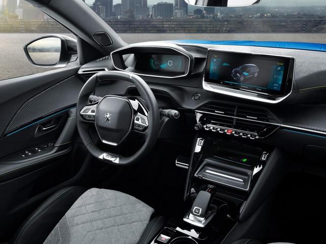 Das neue Elektroauto PEUGEOT e-2008 - 3D i-Cockpit®