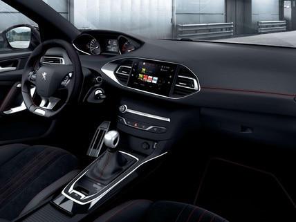 PEUGEOT 308 GT-Line sportliches Design rote Ziernähte