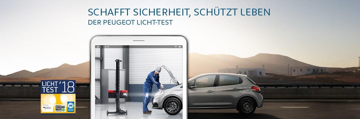 Der-PEUGEOT-Licht-Test