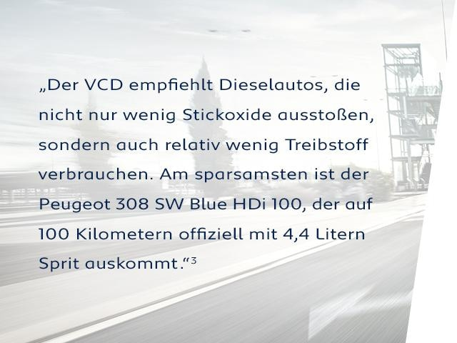 PEUGEOT-308-SW-mit-BlueHDi-Dieselmotor-laut-VCD-Auto-Umweltliste-am-sparsamsten