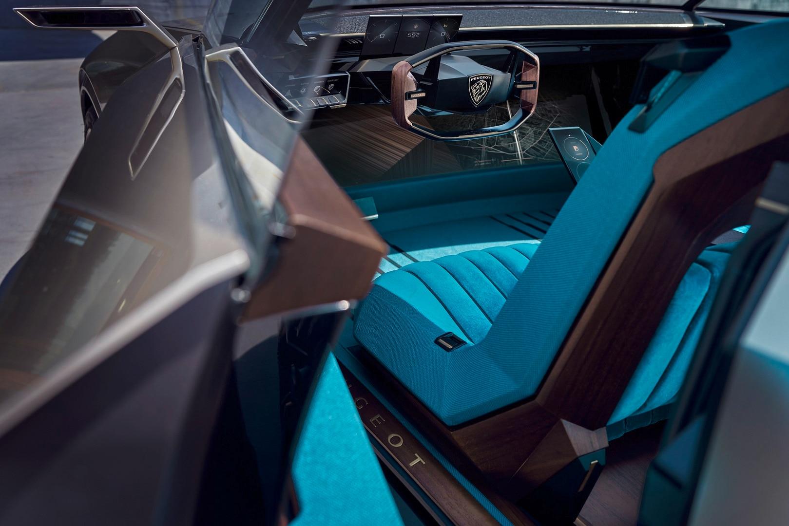 Peugeot E Legend Concept Fotos Videos