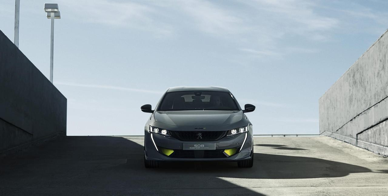 PEUGEOT-508-SPORT-ENGINEERED-Concept-Aussendesign-Frontansicht