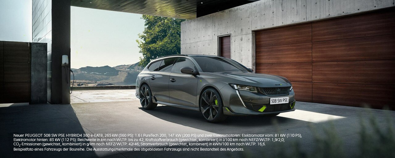 Neuer Kombi PEUGEOT 508 SW PEUGEOT SPORT ENGINEERED