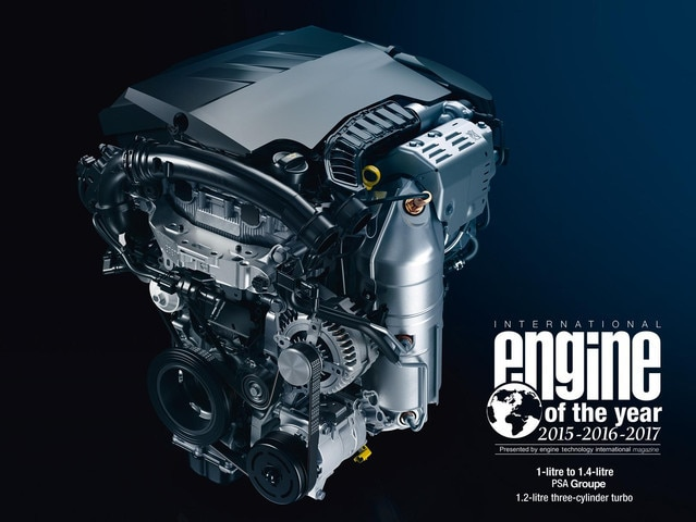PEUGEOT 308 PureTech-Motor Engine of the Year