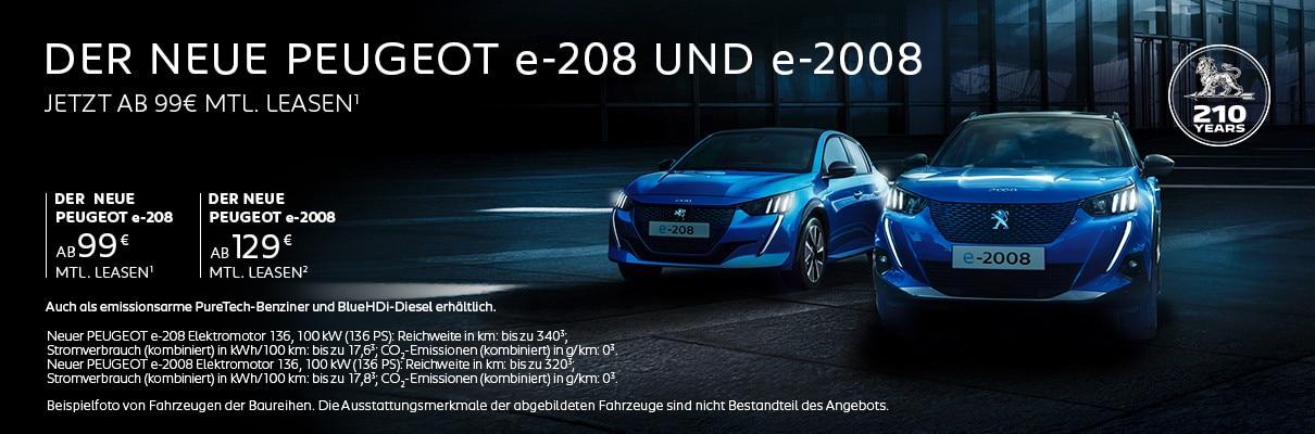 Elektroautos von PEUGEOT – Jetzt Angebote entdecken
