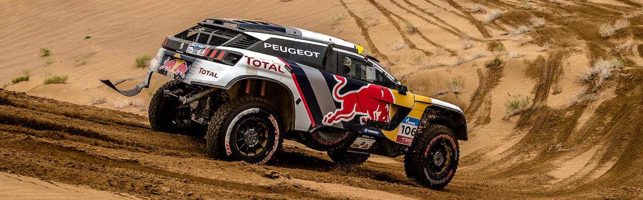 dakar silk way rally PEUGEOT 3008 rennen