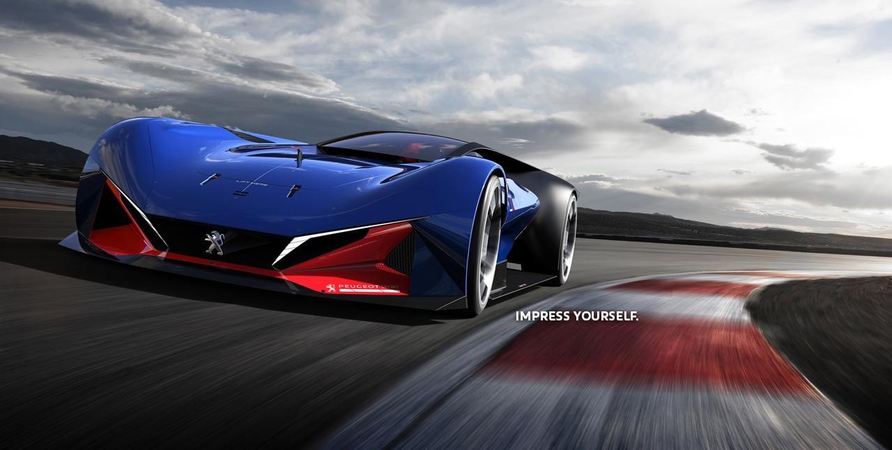 PEUGEOT L500R Hybrid Concept Car
