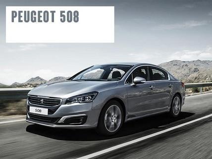 PEUGEOT 508 moderner Mittelklassewagen