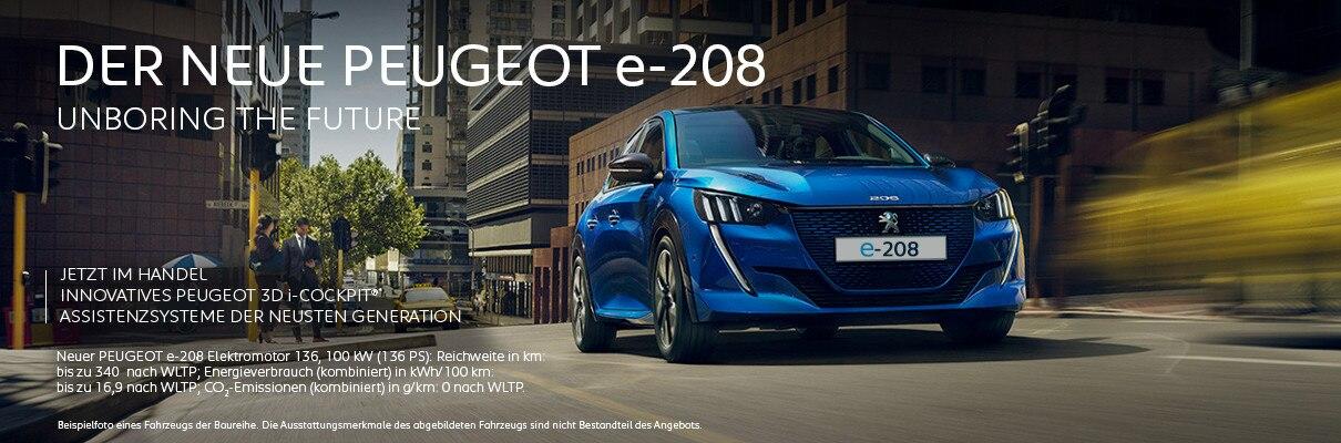 Neuer PEUGEOT 208 jetzt im Handel