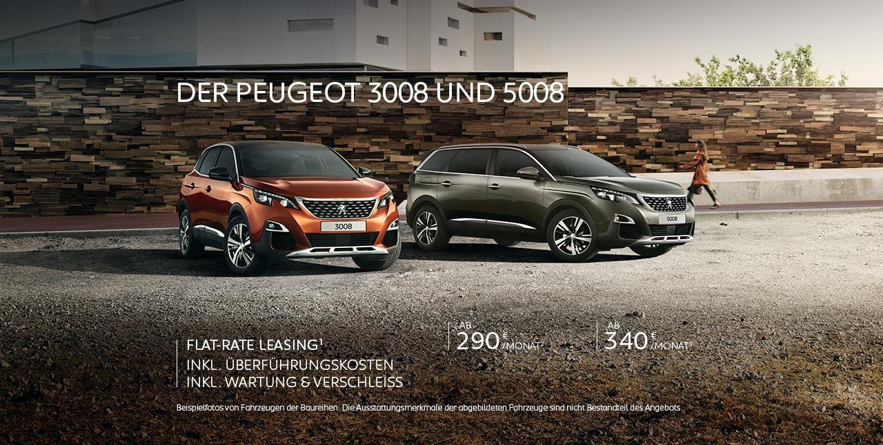 PEUGEOT SUV GT-Line Modelle – Neuwagen Angebote