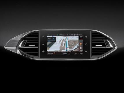 Das ist 3D-Navigation Echtzeit-Verkehrsinfo für den PEUGEOT 308 Technologie