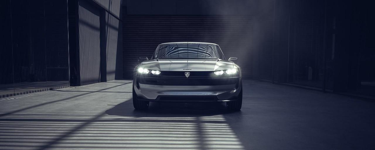 PEUGEOT-Concept-Car-e-Legend-Aussendesign-PEUGEOT-504-Scheinwerfer