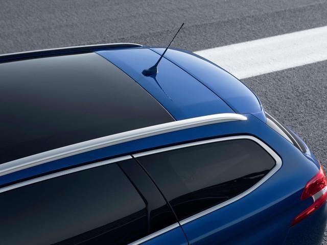 PEUGEOT 308 SW GT blau Kombi Panorama-Glasdach