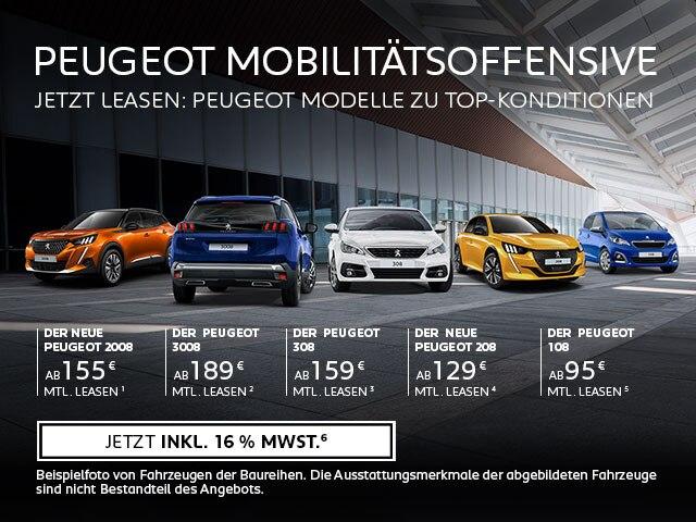 PEUGEOT Neuwagen mit Top-Konditionen – Jetzt entdecken