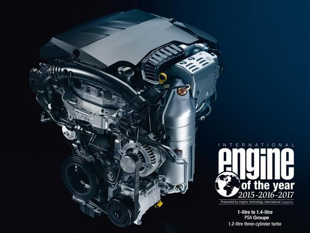PEUGEOT 308 SW THP Motor Engine of the-Year Benzinmotor
