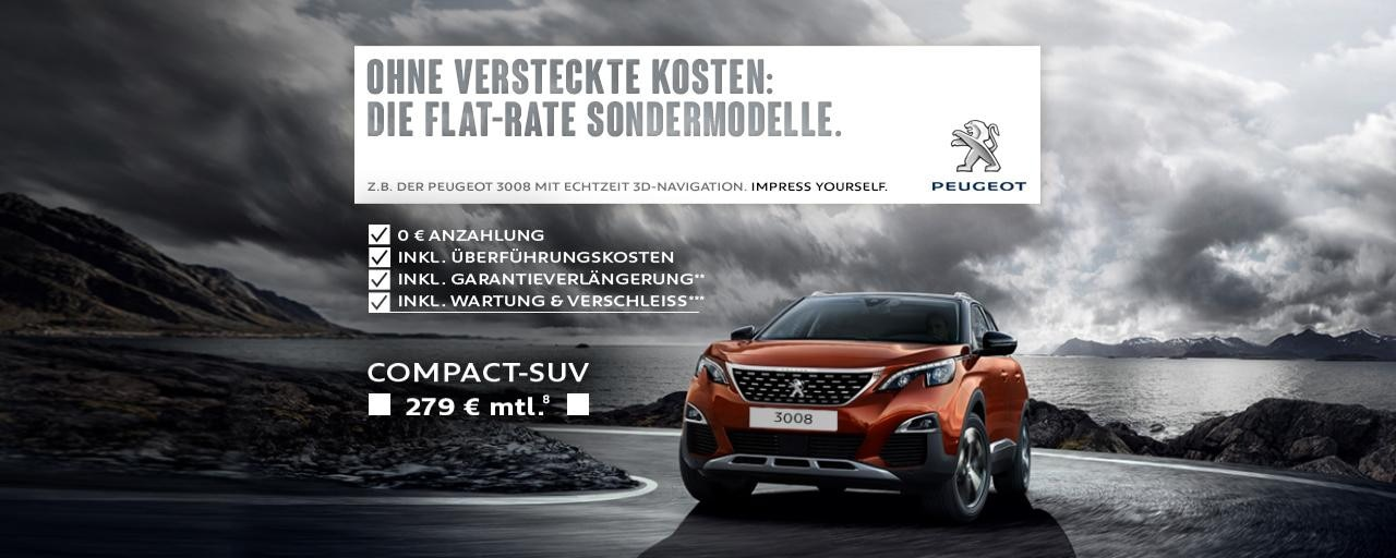 Flat-Rate-Sondermodell-PEUGEOT-3008-Angebot-ohne-versteckte-Kosten