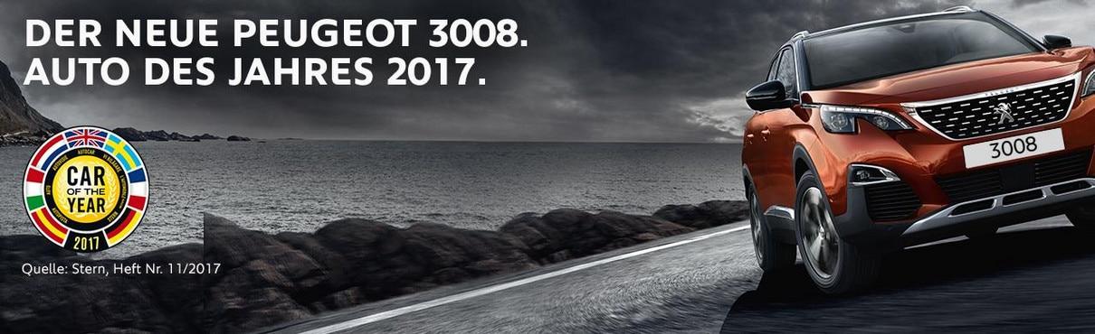 Peugeot 3008 - Auto des Jahres 2017