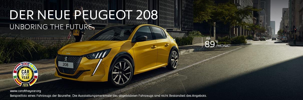 Neuer PEUGEOT 208 – Angebote entdecken