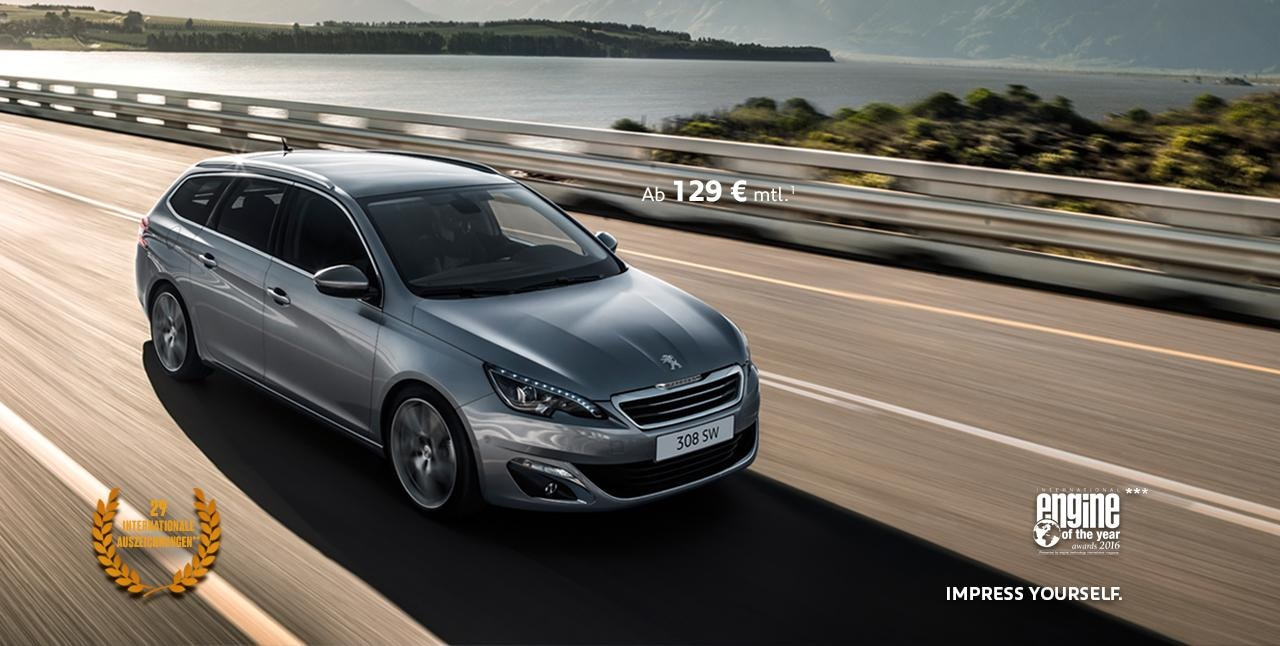 peugeot 308 SW Preise international
