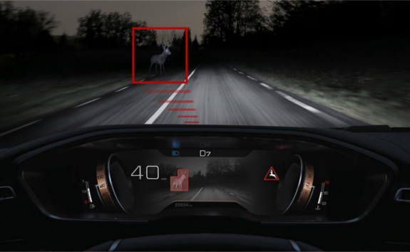 PEUGEOT-508-mit-Night-Vision