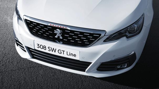 PEUGEOT 308 SW GT-Line weiß sportliche Front