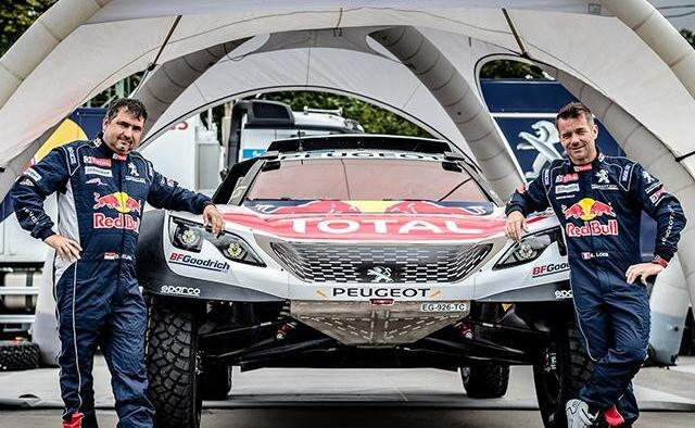 peugeot dakar rallye 2018 mit dem team peugeot total. Black Bedroom Furniture Sets. Home Design Ideas