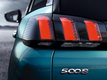 Peugeot 5008 SUV Rückansicht