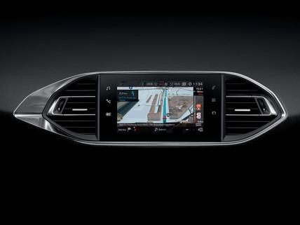 PEUGEOT 308 GTi 3D-Navigation Touchscreen