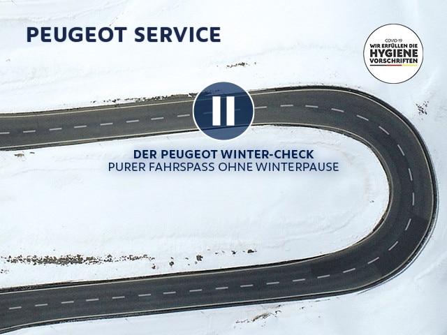 PEUGEOT Winter-Check – Machen Sie Ihren PEUGEOT fit fuer die kalte Jahreszeit