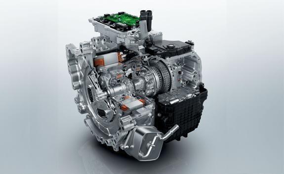 Elektrisches 8-Stufen-Automatikgetriebe