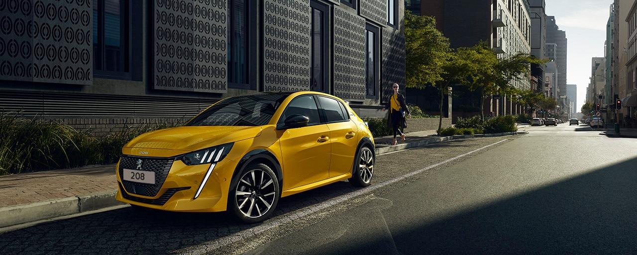 NEUER PEUGEOT 208 – Neues Stadtauto mit sportlicher Frontpartie