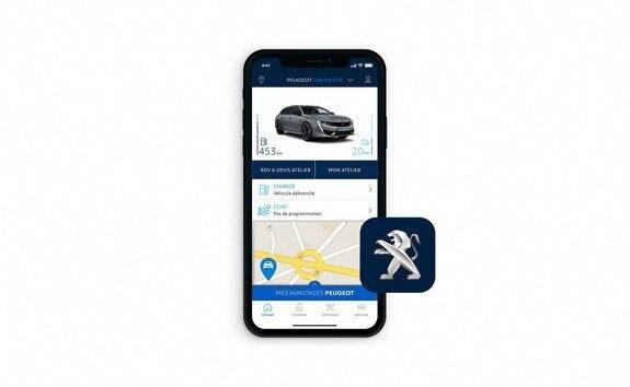 Neuer PEUGEOT 508 PSE HYBRID4 – MyPEUGEOT App