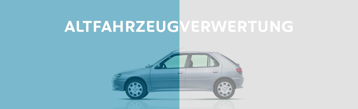 Helfen Sie dabei wertvolle Rohstoffe zu recyceln, indem Sie Ihr Altfahrzeug zur Verwertung freigeben.