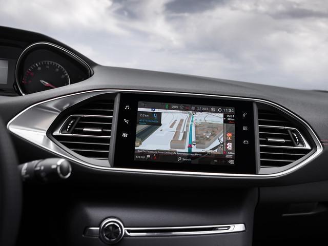 PEUGEOT 308 GTi 3D-Navigation Touchscreen