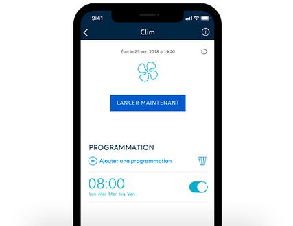 Temperatur Ihres PEUGEOT ueber App managen