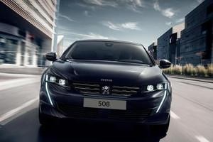 PEUGEOT 508 Coupé-Limousine mit innovativen Technologien