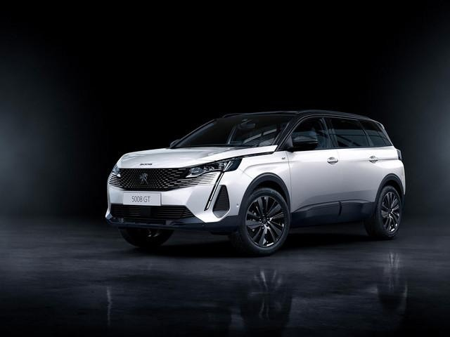Neuer grosser SUV PEUGEOT 5008 – Neue Black Pack-Option