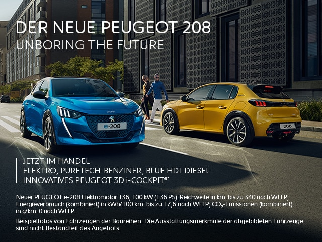 Jetzt im Handel – der neue PEUGEOT 208