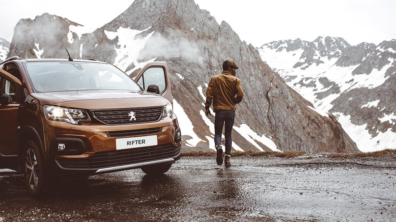 Neuer PEUGEOT RIFTER – Outdoor Van