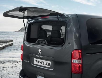 PEUGEOT-Traveller-markantes-Komfort-Kofferraum