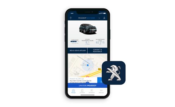 FAMILY_SUV PEUGEOT 5008 MyPeugeot® App